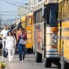 Honduras Public Transportation Bus Drivers on Strike