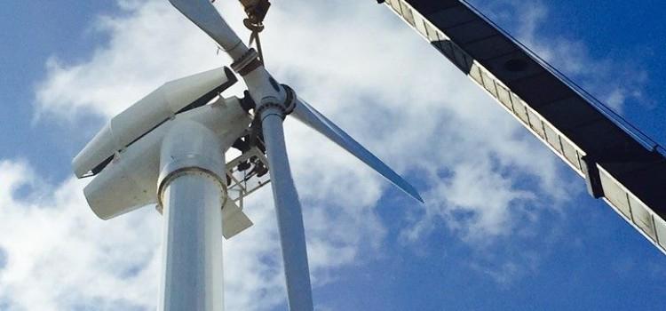 Roatan's Wind Farm – Ocean View