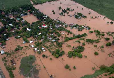 Flooded Area in Honduras