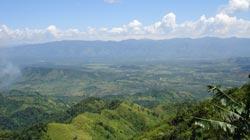 Bajo Aguan Valley in Honduras