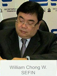 William Chong Wong, Minister of Finance