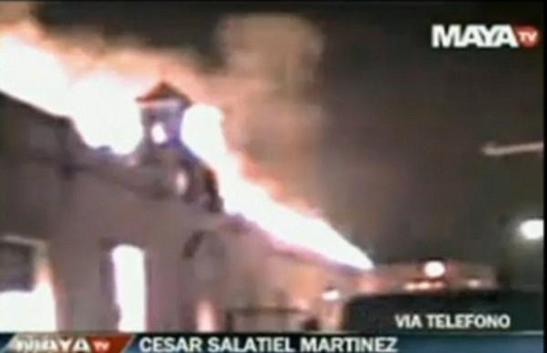 Honduras Prison Fire 2012