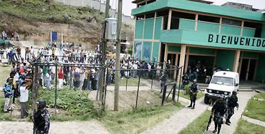 Fire in Honduran Prison in Tegucigalpa
