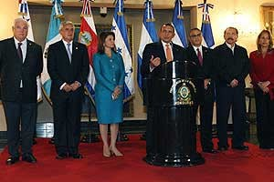 Central American Presidents
