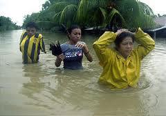 Rain in Honduras