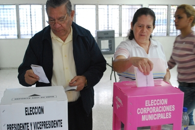 Honduras Primary Elections 2012