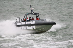 Honduras Navy leases 6 Damen 1102 Interceptor boats to build up presence in the Pacific Golfo de Fonseca