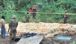 Honduran Law Enforcement Authorities seize millions of US Dollars in Drugs