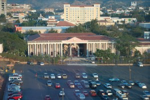 The Honduras Supreme Court in the Capital City of Tegucigalpa