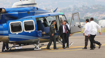 President Lobo Visits Chile