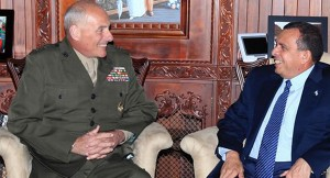 President Lobo Meets with General Kelly of the US Southern Command