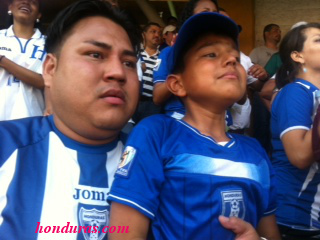 Catrachos Unite! Honduras vs Mexico 2013