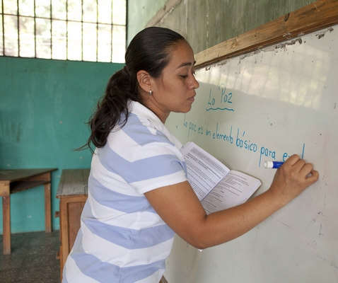 Honduran Teachers Undergo Evaluations