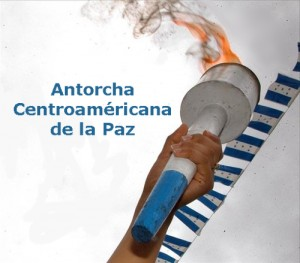 Central American Torch of Peace
