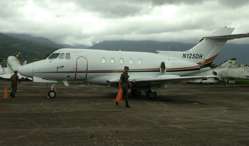 Honduras Seizes Plane from Mexico in La Ceiba