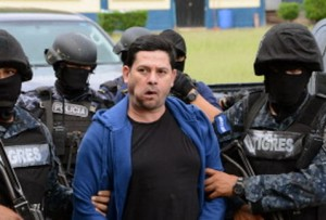 "Honduras Elite Police for the ""Tigres"" escort Drug Trafficker designated as a ""Kingpin"" Emilio Fernandez Lopez, alias ""Don H"" in Tegucigalpa, Honduras"