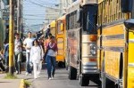 Honduras Public Transportation Bus Drivers on Strike