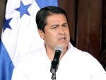 Honduras President Juan Orlando Hernández makes call for long-term investment in projects