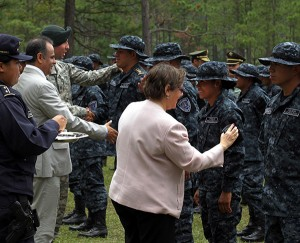 former us ambassador to honduras lisa kubiske attends inauguration of honduras special forces tigres