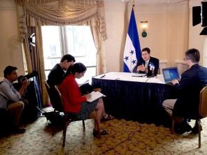Honduran President to Meet with Biden