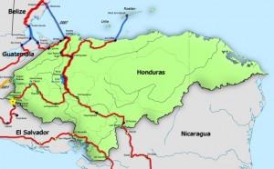 Honduras Border Ocotepeque