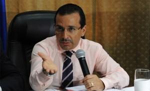 Finance Mjnister Wilfredo Cerrato