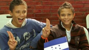 Honduran Twins in Danli