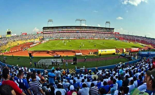 Honduras vs Mexico at the Olympic Stadium in San Pedro Sula (Estadio Olimpico de Honduras en San Pedro Sula Venue for the CONCACAF - FIFA World CUp Qualifier between Honduras vs Mexico on Tuesday November 17, 2015