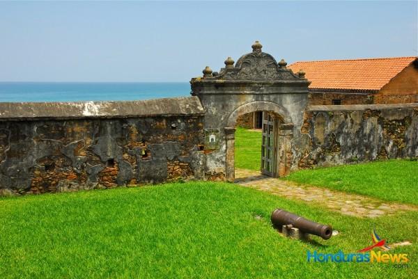 Trujillo Honduras - Overlooking Trujillo Bay from Historic Spanish Fort