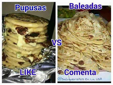 Honduras vs El Salvador - Baleadas vs Pupusas