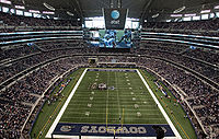 Arlington AT&T Stadium Cowboys_Stadium_field