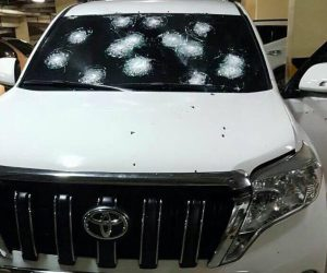 DEA Vehicle Shot at in San Pedro Sula Honduras Allegedly by Alleged Narco Víctor Hugo Diaz Morales