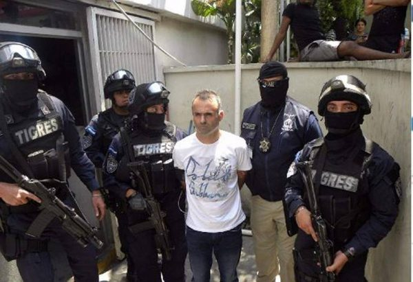 Franco Daniel Lombardi Arrested in Roatan, Honduras April 2016