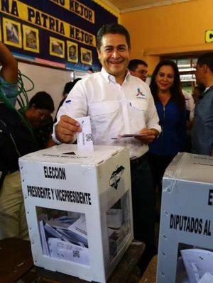 Honduras-President-Juan-Orlando-Hernandez-Votes