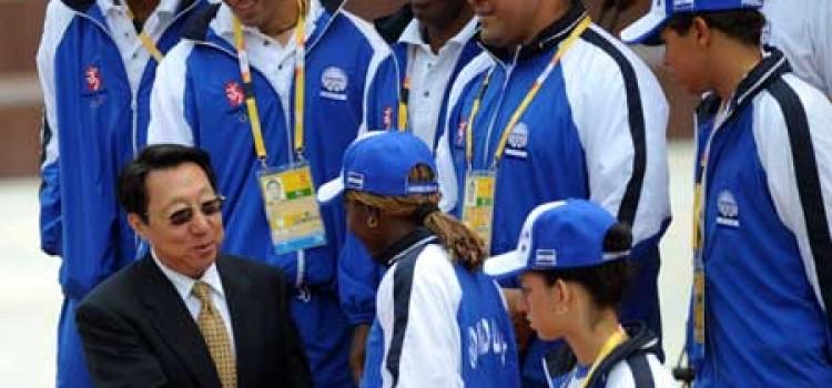 Honduras Raises Flag at Olympics!