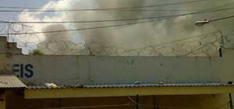 Honduras Prison Fire in San Pedro Sula