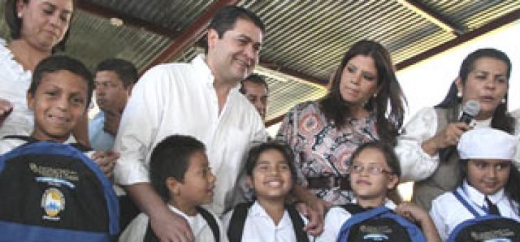 Honduras' Five Stars Schools Inaugurated