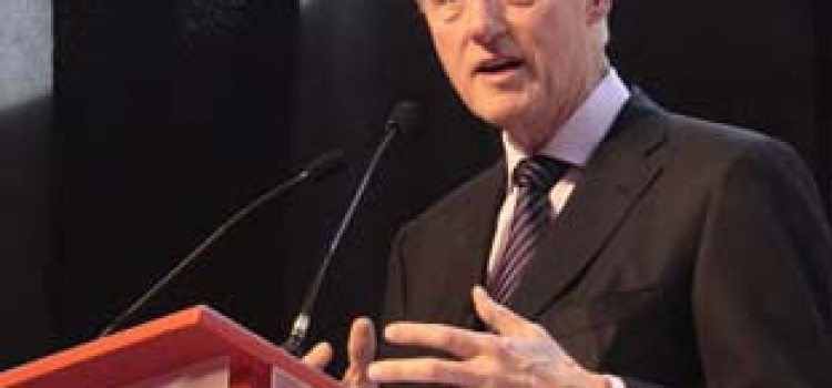 USA Former President Clinton Speaks in Honduras