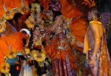 La Ceiba 2012 Gran Carnival Queen Coronation