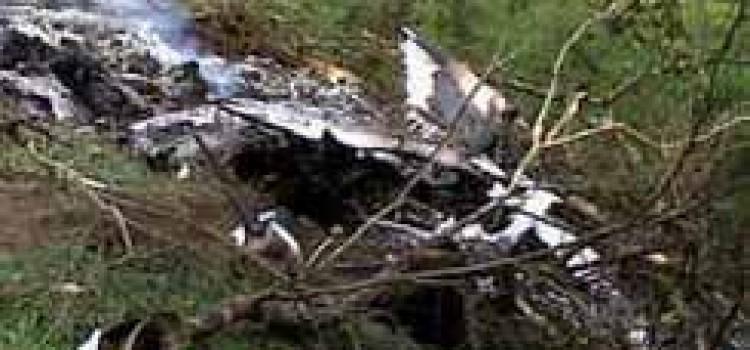Small Plane Crashes in Honduras