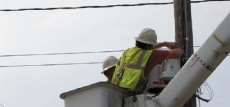 Installation of Security Cameras and 911 Emergency response 60% complete in Tegucigalpa Honduras