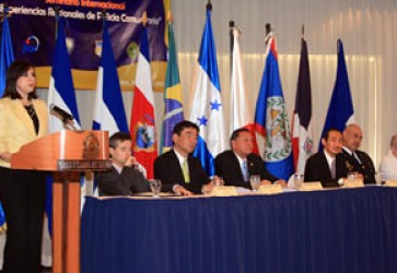 Japan and Brazil Introduce Community Policing to Honduras