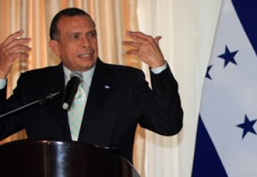 President of Honduras Addresses the Nation