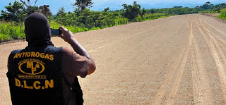 Honduras Destroys Clandestine Airstrips