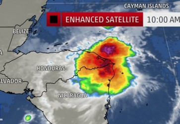 Tropical Storm Hanna Forms: Warning Issued For Honduras and Nicaragua Coast