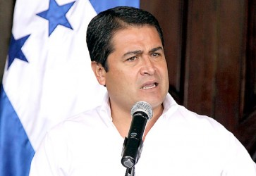Honduras President Juan Orlando Hernandez Revealed that Graft-Linked Companies Helped Fund His Campaign