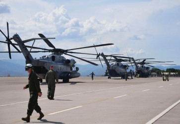 """New Horizons"" US Marine Corps arrived in Honduras to Provide Humanitarian Aid"