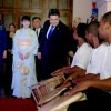 Japanese Princess Mako Commemorates 40 years of Volunteers in Honduras