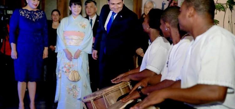 Japanese Princess Mako Commemorates 40 years of Volunteers in Honduras