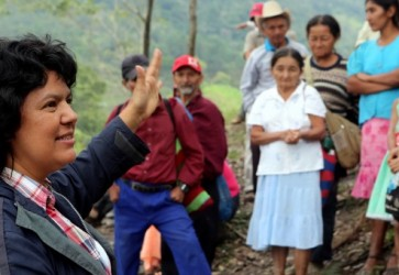 Internationally-recognized rights defender Berta Cáceres murdered in Honduras
